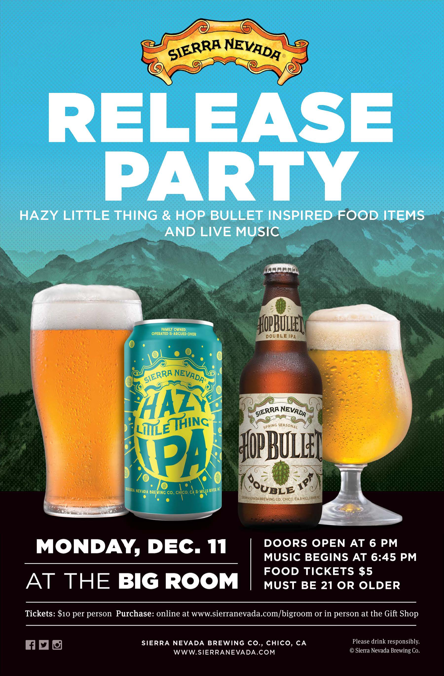 Hazy Little Thing & Hop Bullet Release Party
